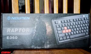 Bàn phím Newmen E360, món hàng hot cho game thủ