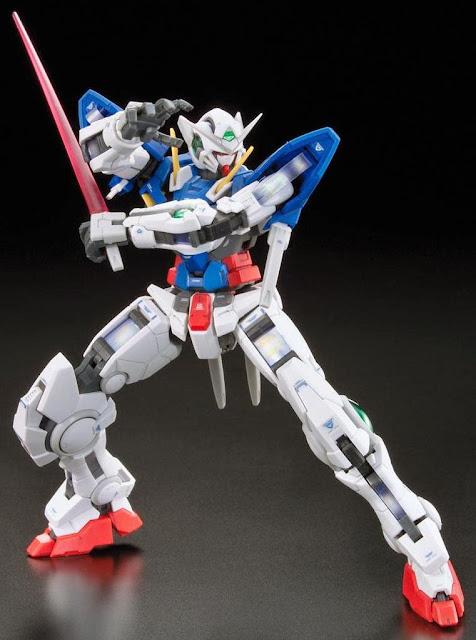 Gundam Exia RG 1/144 chất lượng bố trí màu sắc chưa từng có
