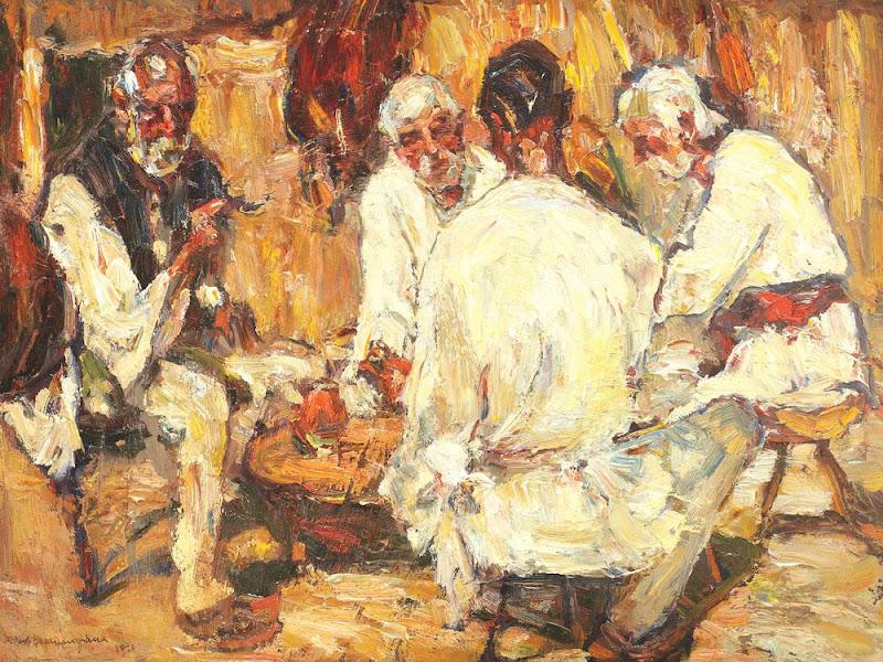 Rudolf Schweitzer-Cumpăna - Prânzul dulgherilor
