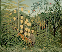 ROUSSEAU Henri In a Tropical Forest 1908-09
