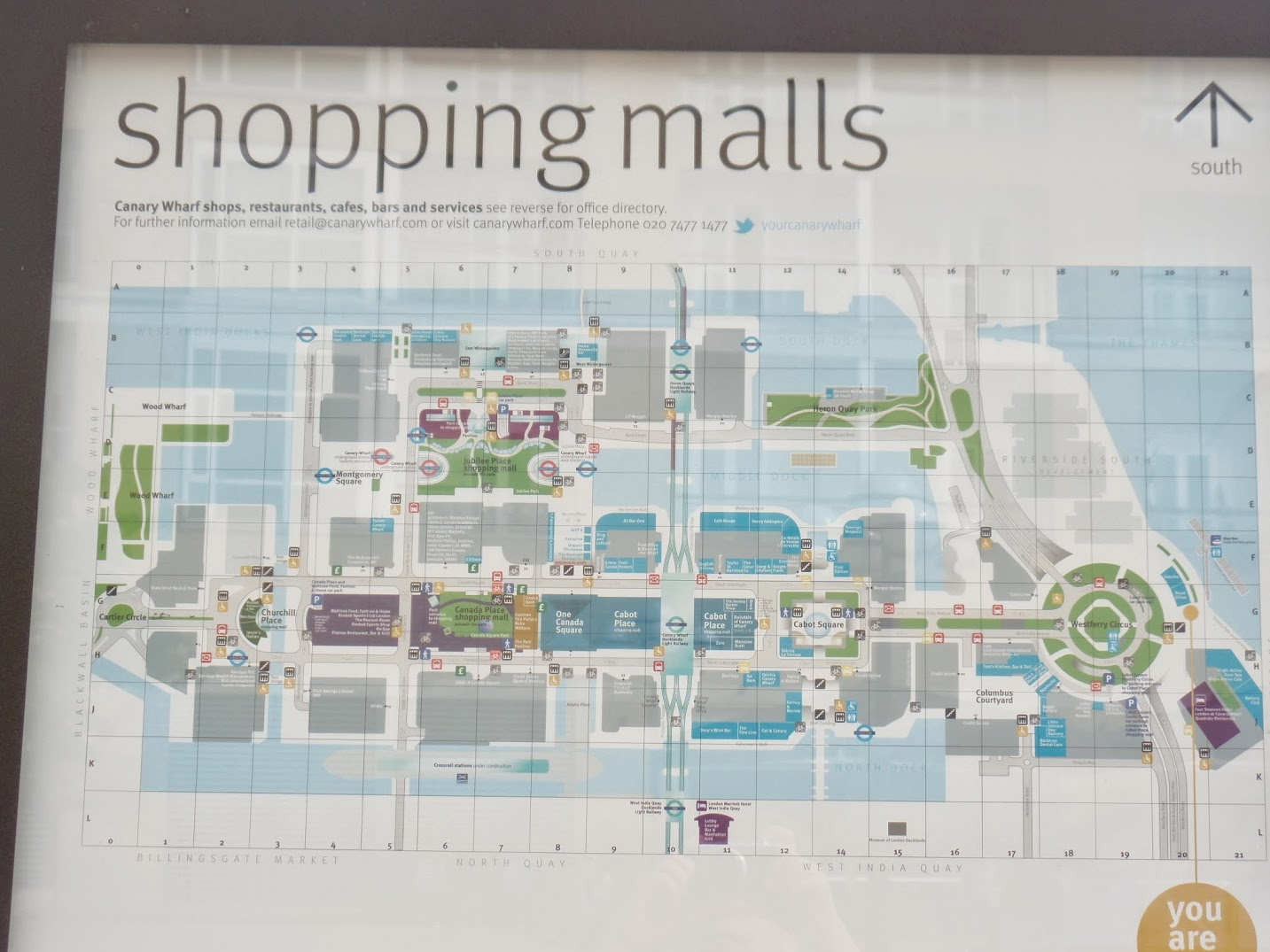 Canary Wharf Shopping Map Isle of Dogging – The Baedeker Raids Canary Wharf Shopping Map