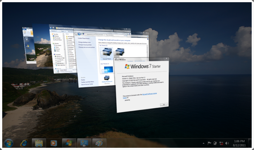 Aero Windows 7 Starter
