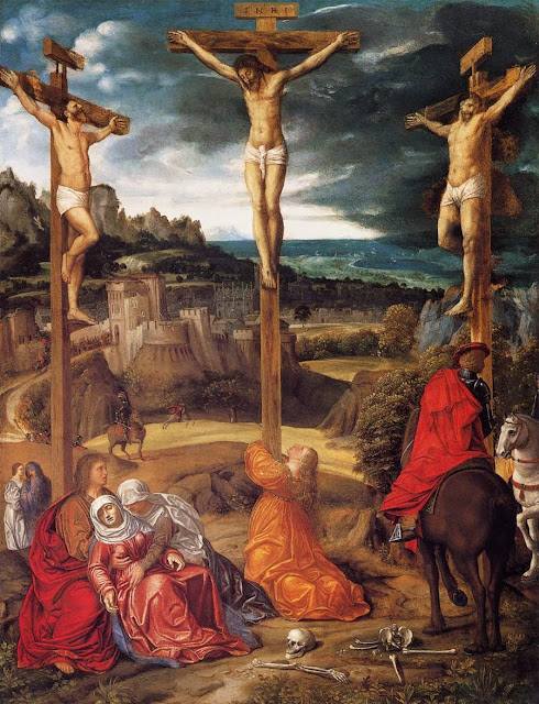 Giovanni Gerolamo Savoldo - Crucifixion