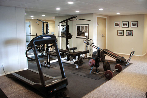 b62085e3846 Setting up Gym Equipment at Home  Setting up a Home Gym using real ...