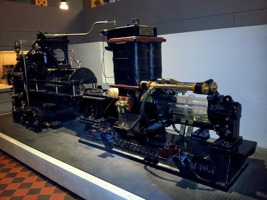 Parsons turbine driven Generator1
