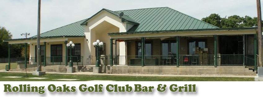 Restaurant Bar San Antonio TX | Rolling Oaks Golf Club Bar & Grill at 5550 Mountain Vista Dr, San Antonio, TX