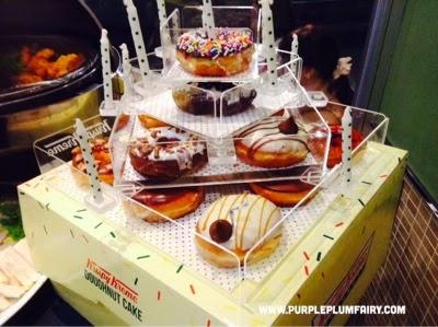Purple Plum Fairy Krispy Kreme Opens Their 1000th