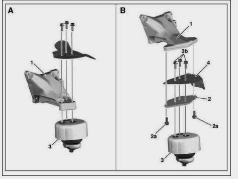 how to change ve engine mounts