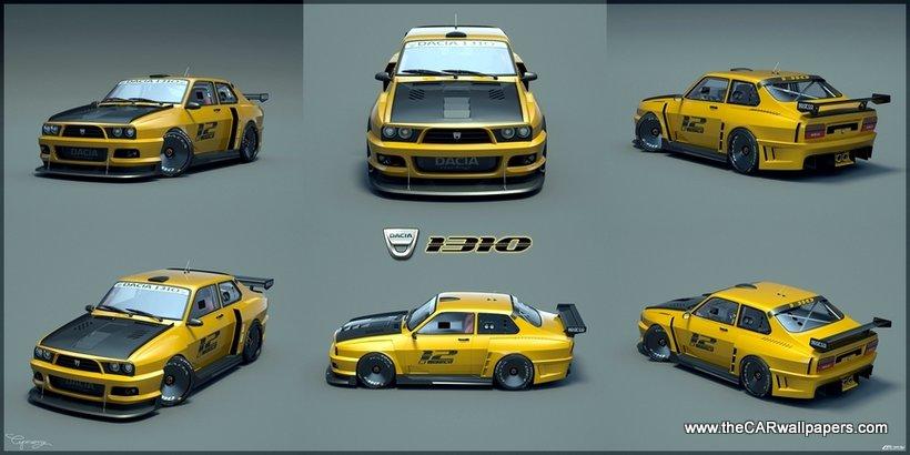 Dacia-1310-rally-car