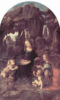 La Virgen de las Rocas del Pintor Leonardo da Vinci