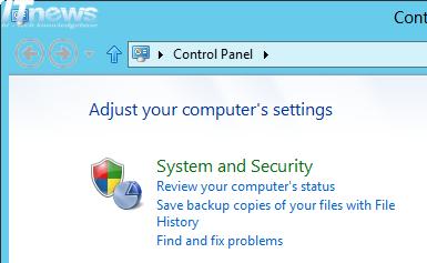 SmartScreen Filter Windows 8