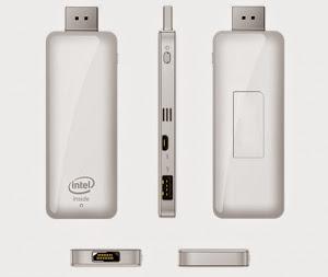 Máy tính nhỏ gọn dùng CPU Intel có khả năng chạy Windows