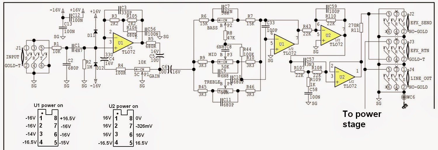 Solid State Pre  Schematic on jfet circuit diagram