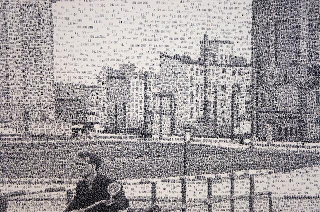 Arte creado utilizando sellos fechadores 4