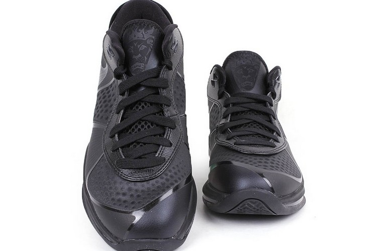 Nike LeBron 8 V2 Low 8220Triple Black8221 Available Online .