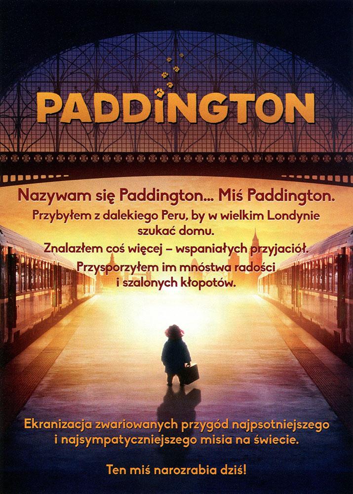 Ulotka filmu 'Paddington (tył)'