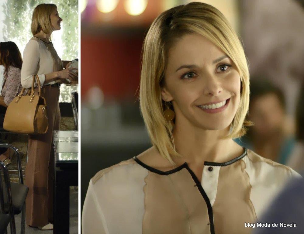 moda da novela Em Família - look da Silvia dia 5 de julho