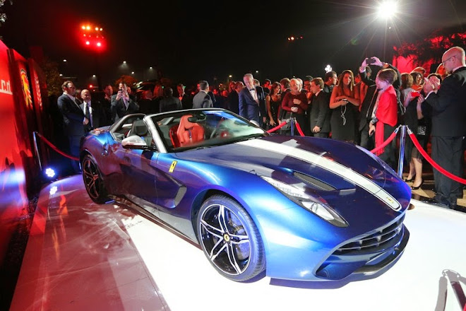 Ferrari shows F60America at Beverly Hills [w/VIDEO]