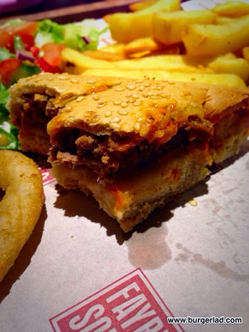 Fayre and Square Pizza Burger