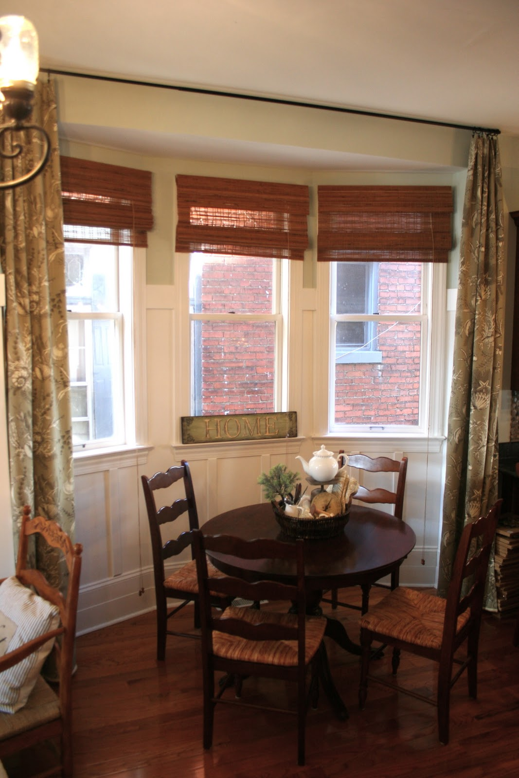 curtain panels for my breakfast nook how to make curtains home