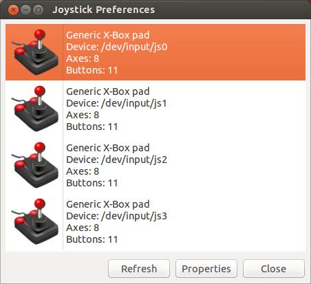ubuntu xbox 360 controller joystick xboxdrv