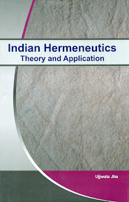 [Jha: Indian Hermeneutics, 2013]