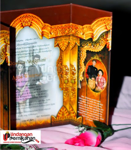 Undangan Pernikahan Roslina & Agus