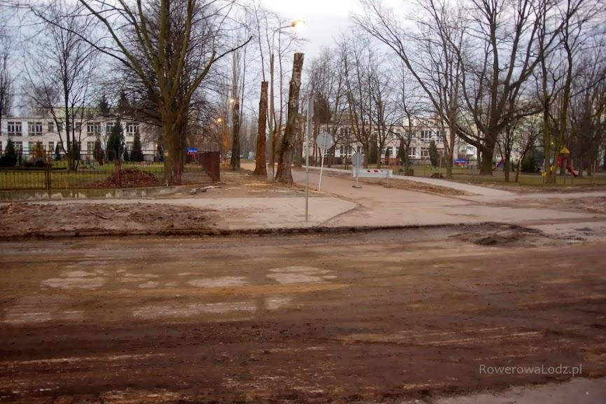 Zerwany jest już asfalt, ale nie są jeszcze prowadzone prace ziemne