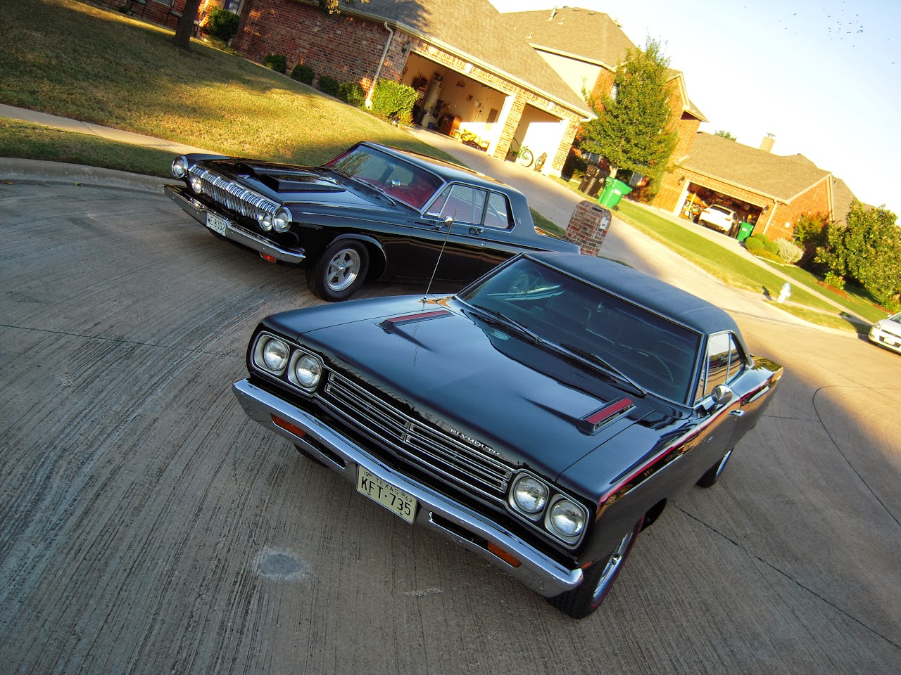 My Mopars: 1963 Dodge and 1969 Road Runner
