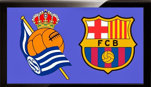 REAL SOCIEDAD VS FC BARCELONA, FUTBOL, STREAMS, VIDEOS, REPETICION, ONLINE