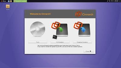 Cinnarch deja Cinnamon por GNOME, cambio de nombre a la vista