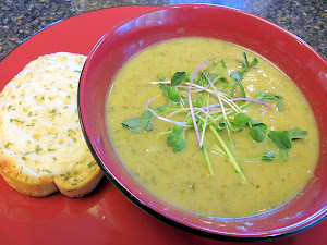 Watercress Cauliflower Soup recipe, Martha Stewart