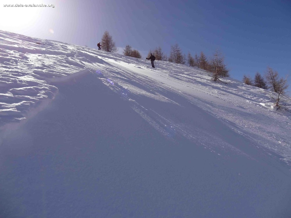 Avalanche Mercantour, secteur Le Cimet, Piera Bruna - Photo 1 - © Rosso Marco