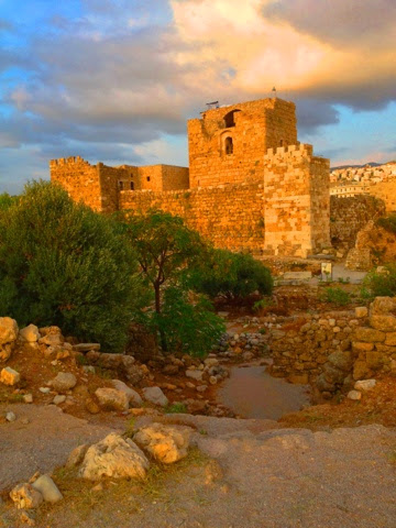 Picture of the Byblos Castle.
