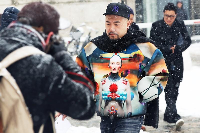 *Paris Fashion Week Fall/Winter 2013 Street Style:Nam巴黎時裝週街拍! 12