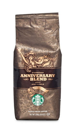 Starbucks Autumn Blend & Anniversary Blend