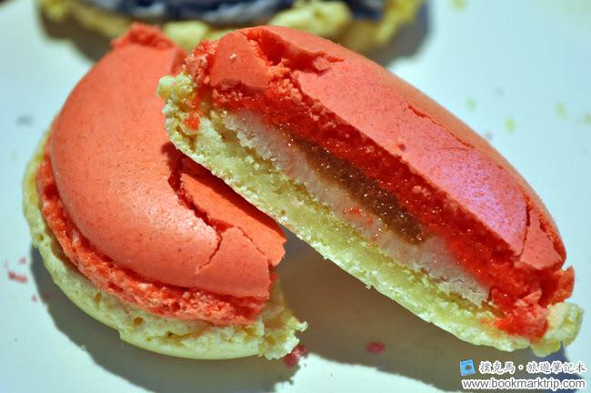 森製菓馬卡龍草莓佐青蘋果軟糖口味