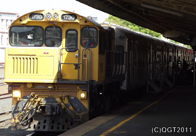 1730 & SX set No.45 at Toowoomba Station