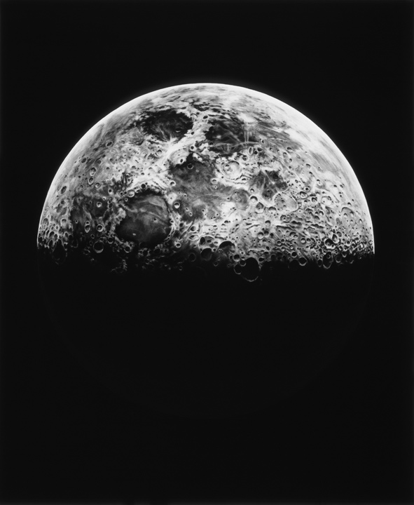 UNTITLED (MOON, 1865) by Robert Longo