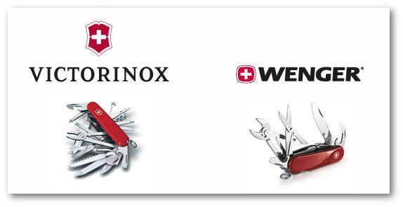 Victorinox і Wenger