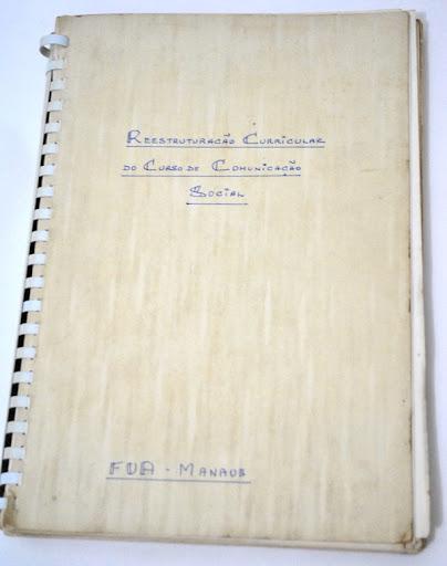 Projeto Original do Curso de Relações Públicas da UFAM (1975)