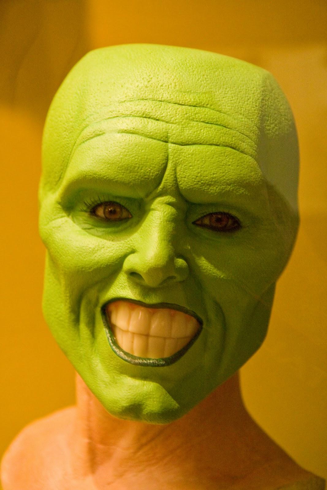 on Display Jim Carrey's Mask
