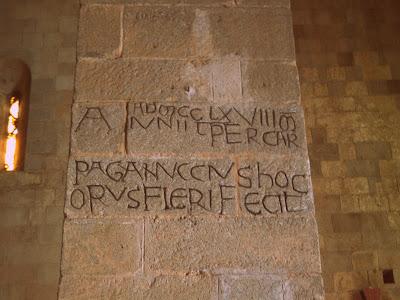 La pieve di Lamulas between Arcidosso and Montelaterone