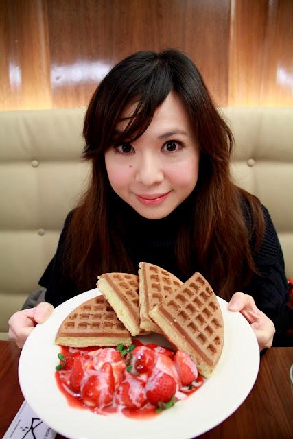 食記.台北.米朗琪咖啡館MELANGE CAFÉ.鬆餅