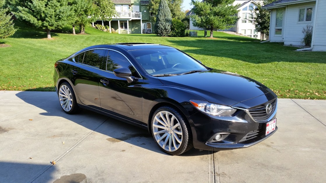Lovely New Wheels 20x9.5 MRR HR9   Mazda 6 Forums : Mazda 6 Forum / Mazda Atenza  Forum