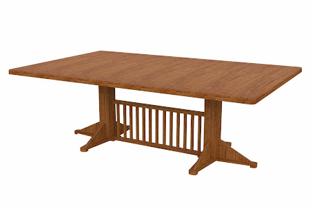 Woodland Conference Table in Como Maple