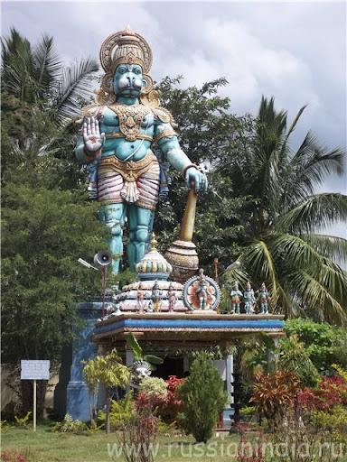 Большая статуя: Хануман