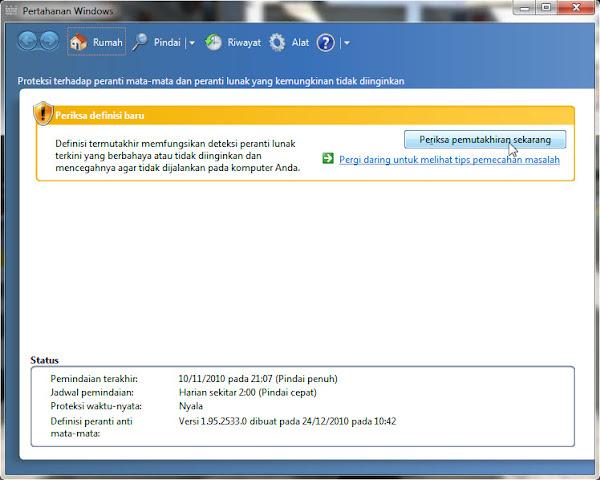 Microsoft Security Essentials & Windows Defender Community