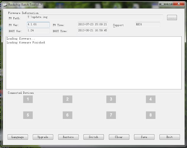 Rockchip Batch Tool 1.7