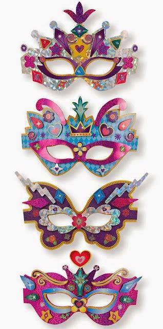 Bộ thiết kế mặt nạ huyền bí ME9481 giúp trẻ phát triển khiếu thẩm mỹ và sự kháo léo